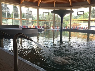 Inner part of THERME PARK