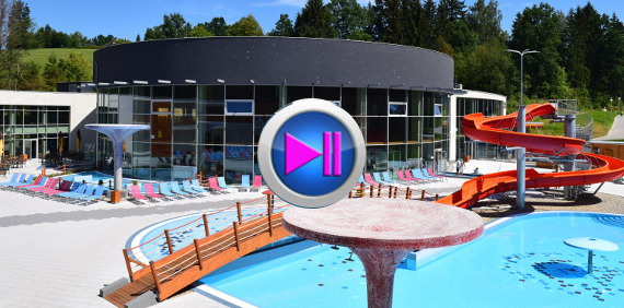 Video of thermal park THERME LOSINY