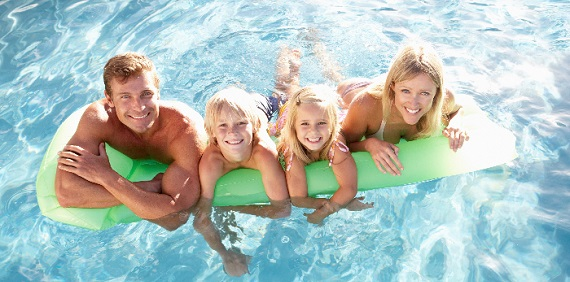 Summer holiday with children in the Wellness hotel DIANA
