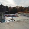 Outdoor thermal pools